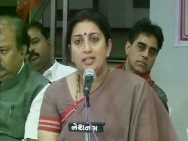 Video : NIT Unrest: Will Ensure No Student Deals With Injustice, Says Smriti Irani