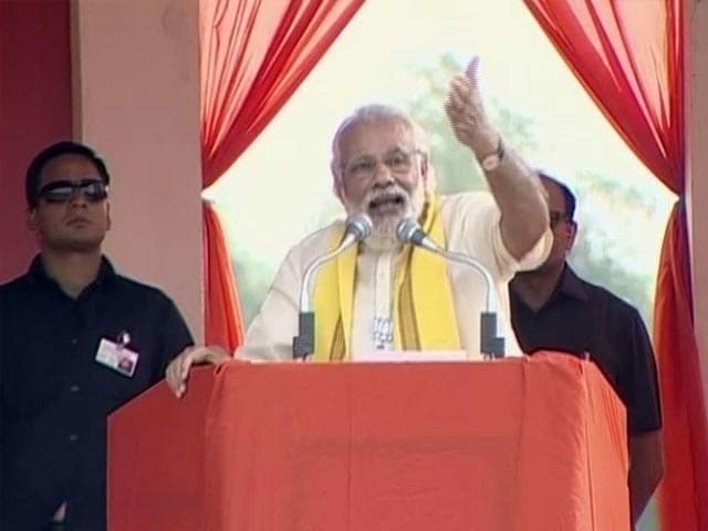 Video : Kolkata Flyover Tragedy 'God's Message To Save Bengal From Trinamool': PM Modi