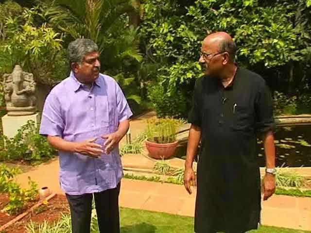Video : Walk The Talk With Former UIDAI Chairman Nandan Nilekani