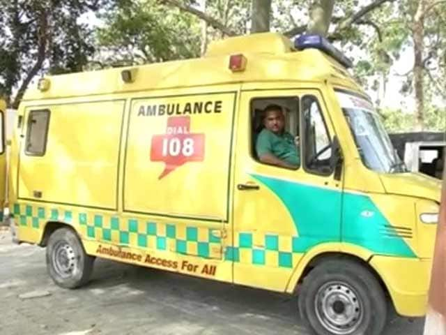 Video : Ambulance At Bihar Health Minister's Service Vanishes After Outrage