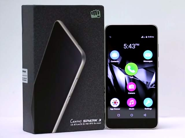 Video : Micromax Canvas Spark 3 Unboxing and Hands On