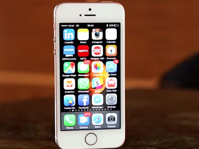 Video : Apple iPhone SE Review