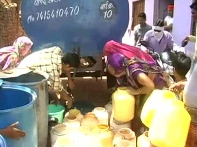 Video : In Madhya Pradesh, A City Goes Without Water For 8 Days