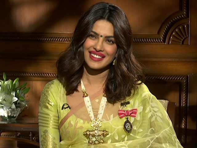 Video : Priyanka Chopra On Being India's First Global Super Star
