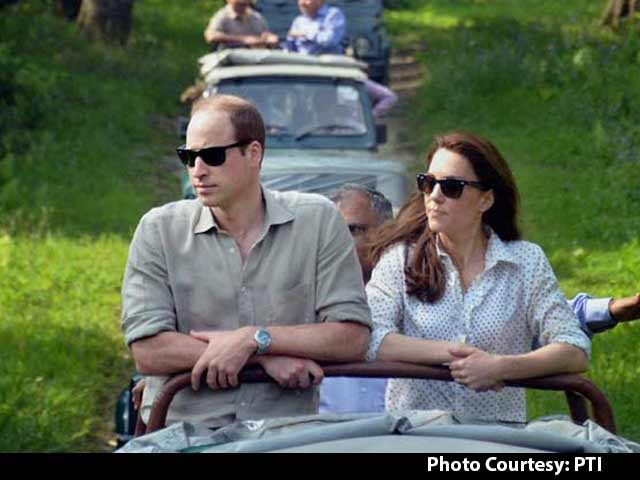 Video : Royal Couple Prince William And Kate Visits Kaziranga National Park