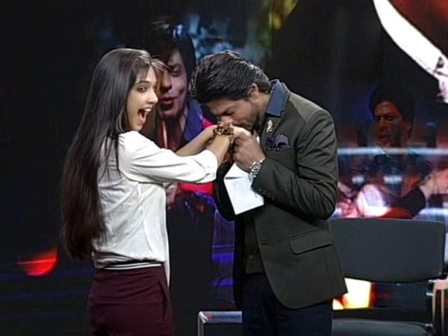 Video : Tips on Wooing a Woman, With Love From SRK