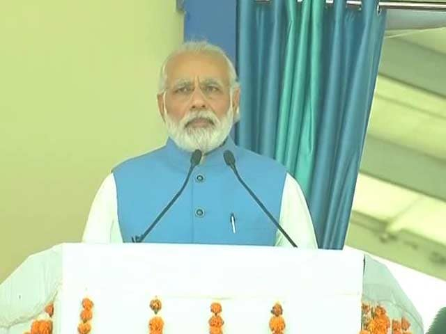 Video : At Ambedkar's Birthplace, PM Reaches Out To Villages, Farmers