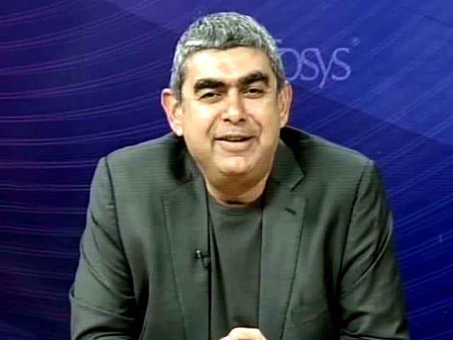 Video : Infosys CEO Vishal Sikka On Q4 Earnings