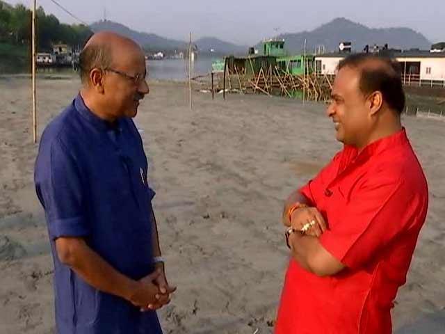 Video : 'Rahul Gandhi Acts Like God': Assam BJP's Himanta Biswa Sarma