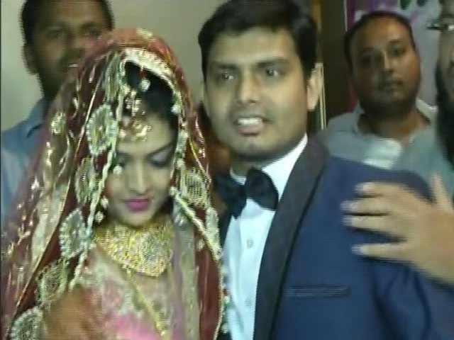 Video : As Ashitha Weds Shakeel In Mysuru, Their Families Dismiss 'Love Jihad' Protests