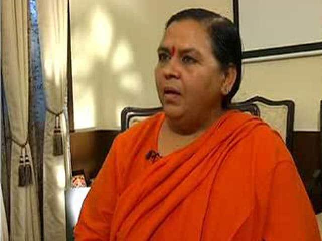 Video : सूखे पर पहले प्लानिंग का कोई मतलब नहीं : उमा भारती