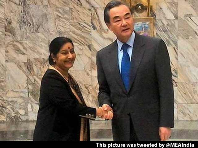 Video : Sushma Swaraj Warns China Against 'Double Standards' On Terrorism