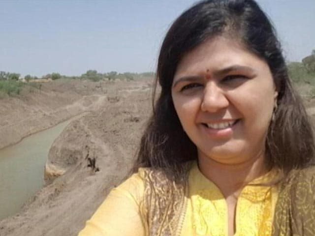 Video : After Drought Selfie Controversy, Minister Pankaja Munde's Disclaimer
