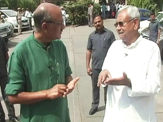 Video : अहम मुद्दों से ध्यान हटाने के लिए नारे दिए जाते हैं : नीतीश कुमार