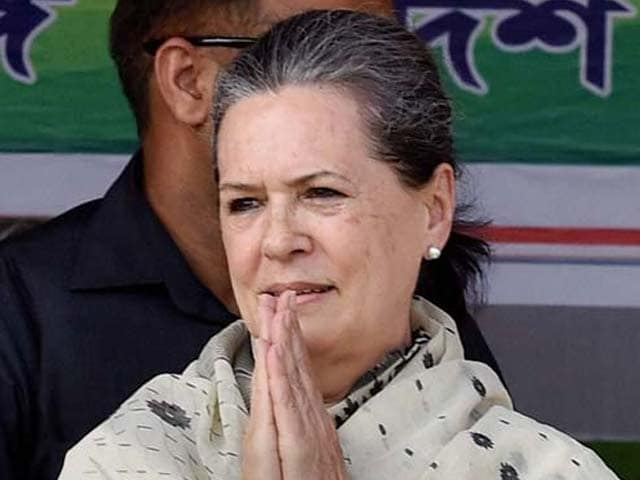 Video : In Aggressive Response On Agusta Scam, Sonia Gandhi Reads Room Correctly