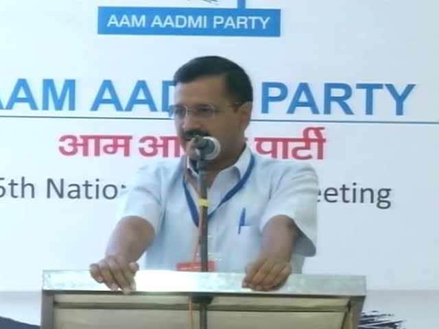 Video : Arvind Kejriwal Re-Elected AAP Convenor, Decision Making Body Overhauled