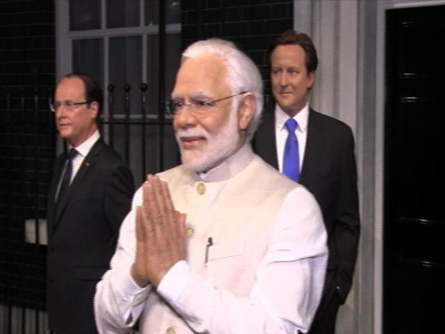 Video : PM Modi Joins Obama, Cameron At London's Madame Tussauds Wax Museum