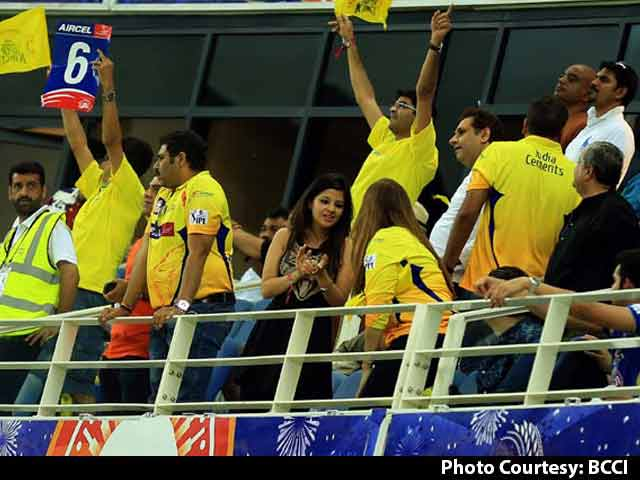 Chennai Super Kings, Rajasthan