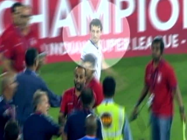 Video : ISL Final: Footage Shows Elano Blumer Did Nothing To Warrant An Arrest