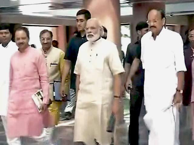 Video : पीएम नरेंद्र मोदी ने ली बीजेपी सांसदों की क्लास