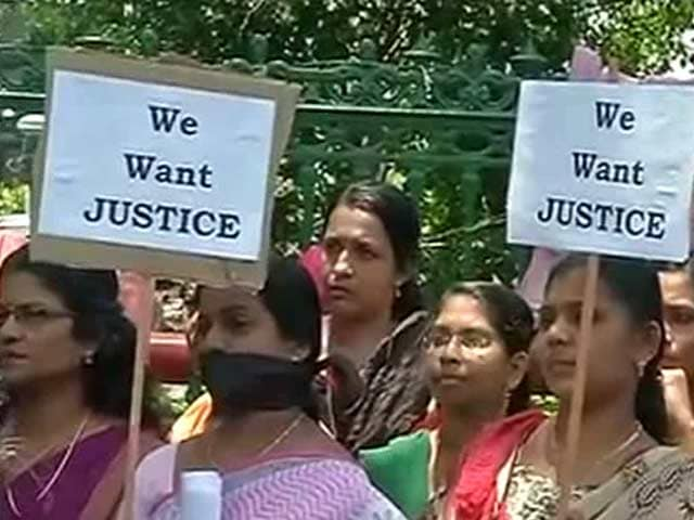 Video : Anger, Protests On Streets Of Kerala After Barbaric Rape And Murder Of Student