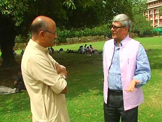 Video : Walk The Talk With Economist Bibek Debroy