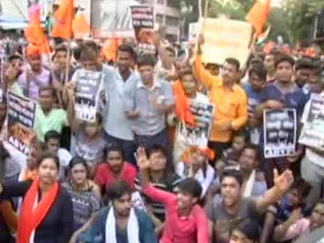 Video : Jadavpur University On The Edge As ABVP Holds Protest