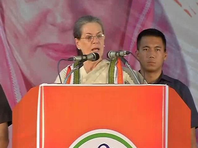 Video : Will Die In India, Ashes Will Be Immersed Here: Sonia Gandhi vs PM Modi