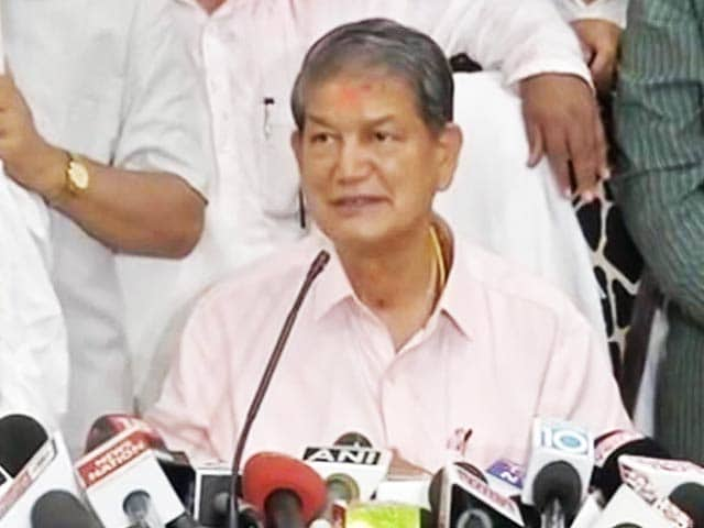 Video : 'A New Chapter' Says Harish Rawat On Winning Back Uttarakhand
