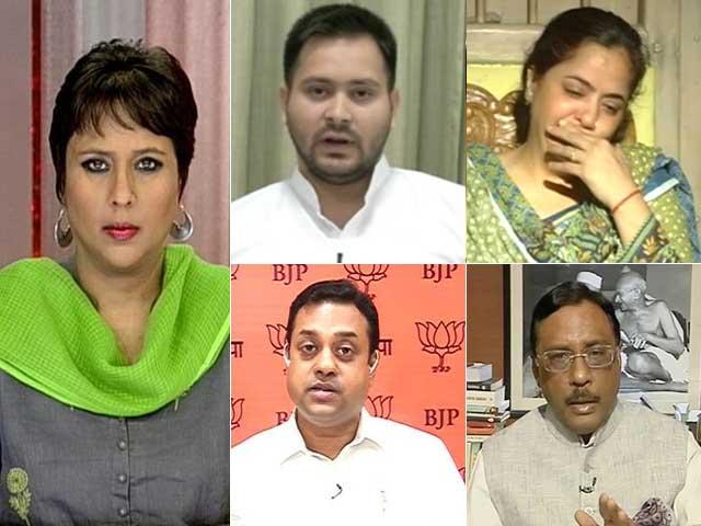 Video : Aditya Shot, Nitish Kumar Image Wounded: Naya Bihar Or Return Of Jungle Raj?