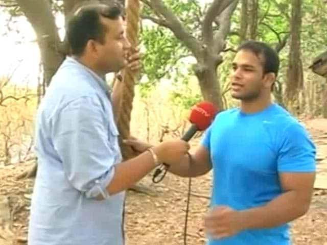 Video : Narsingh Yadav Says He Deserves Rio Olympics Berth, Not Sushil Kumar