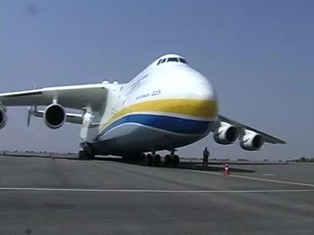 Video : Antonov An-225 Mriya, World's Largest Plane, Lands In Hyderabad