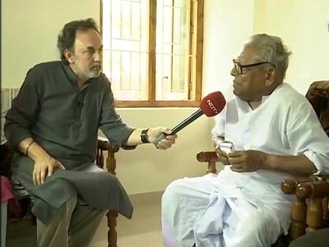Video : Modi Government Has Fascist Approach: VS Achuthanandan