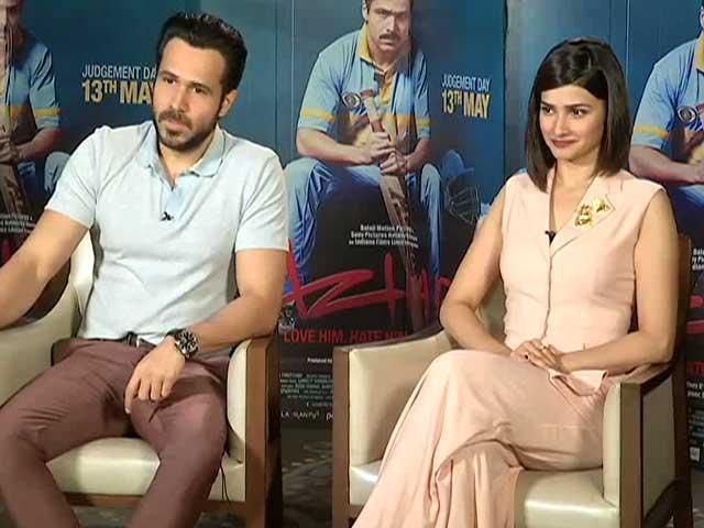 Video : Emraan Hashmi's <i>Azhar</i> is an 'Unbiased' Biopic