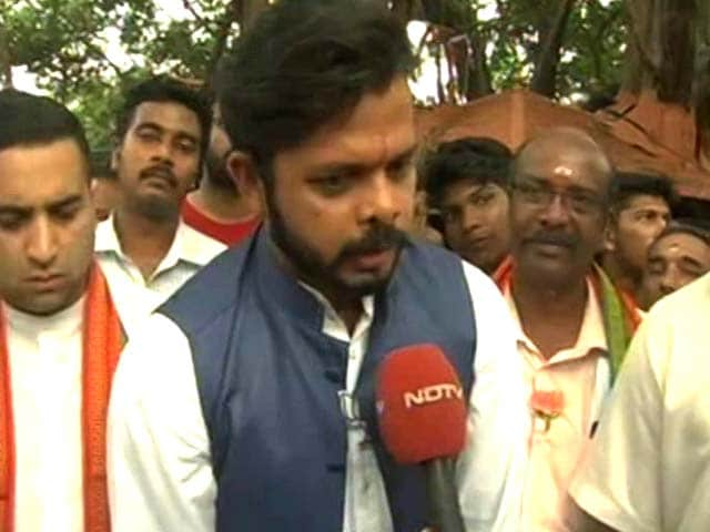 Video : Sreesanth Bats For PM Modi, Says Kerala Remark 'Blown Out Of Proportion'