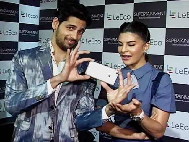 Video : LeEco Star Power With Jacqueline and Siddharth