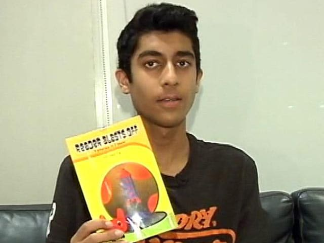 Video : Mumbai Teenager Pens Books For The Visually Challenged