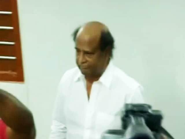 Video : Tamil Superstar Rajinikanth Casts His Vote For Tamil Nadu Elections