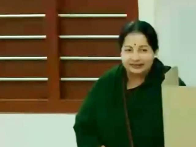 Video : 'Will Know In 2 Days,' Says Jayalalithaa; DMK Keeps Eye On Voter Turnout