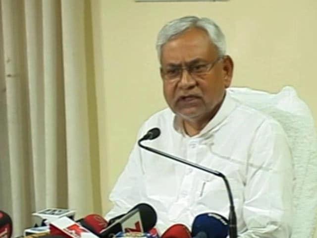 Video : Will Ask For CBI Probe, Says Nitish Kumar On Journalists Killing