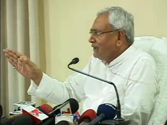 Video : Let's Make You Investigating Officer, Nitish Kumar Snaps At NDTV Reporter