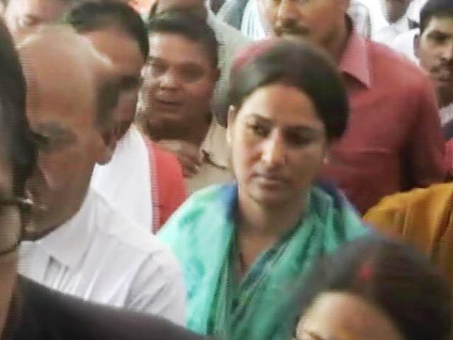 Video : Suspended Bihar Lawmaker Manorama Devi Surrenders In Court