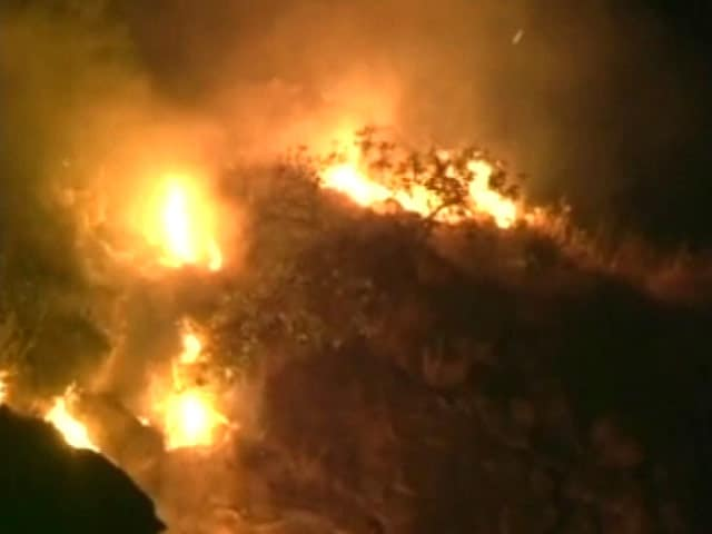 Video : Forest Fires Engulf Large Area Near Mata Vaishno Devi Shrine