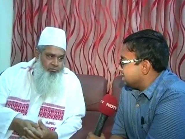 Video : Won't Side With BJP, Says Badruddin Ajmal