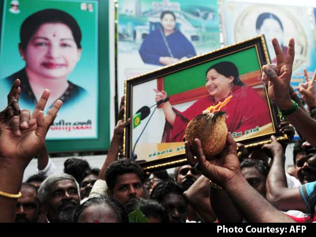 Video : Jayalalithaa Sets 32-Year Record, Says Have No Words To Thank Tamil Nadu