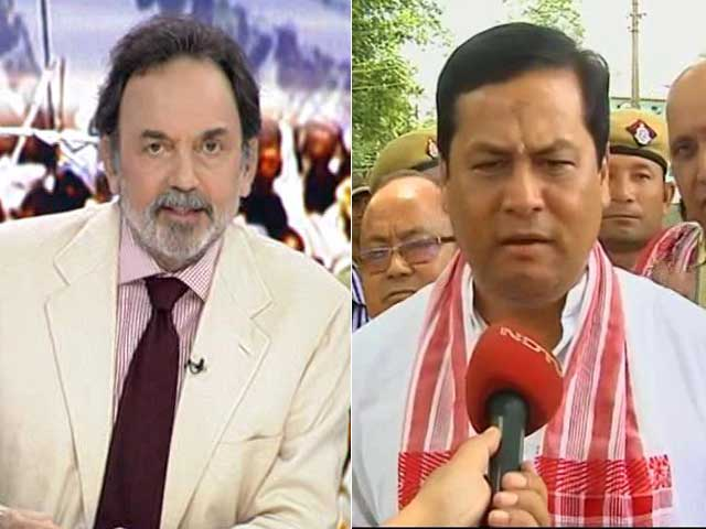 Video : Big BJP Win In Assam, Chief Minister-To-Be Sonowal Lays Out Agenda
