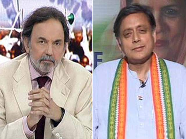 Video : Congress Must Move Beyond Cliched Introspection, Says Shashi Tharoor