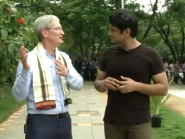 Video : Apple's Tim Cook Reveals the Reason Behind His India Visit