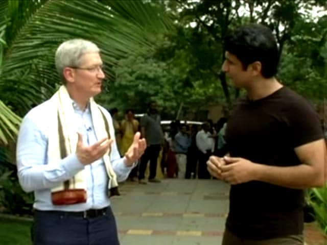Video : Apple's Tim Cook Talks About Indian People, Market Potential, and More