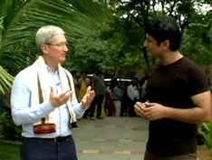 Apple's Tim Cook Talks About Indian People, Market Potential, and More